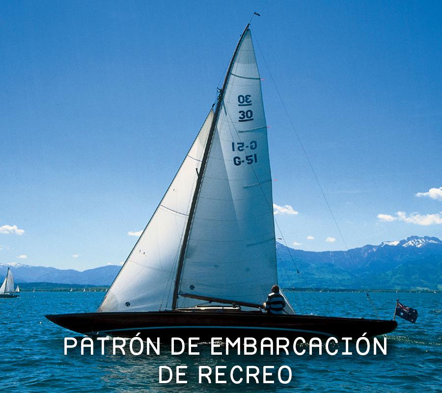patrón embarcación, embarcaciones de recreo, certificados para patrón de barco, psicotecnicos, psicotecnicos barco